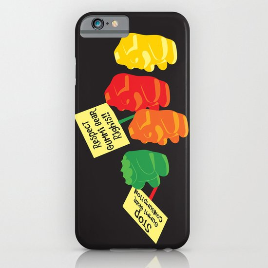 Stop Gummibear Cruelty! iPhone & iPod Case