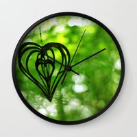 Love & Hope Wall Clock