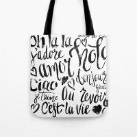 European Holiday Tote Bag