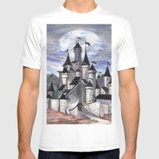 Cards Castle Mens Fitted Tee White SMALL