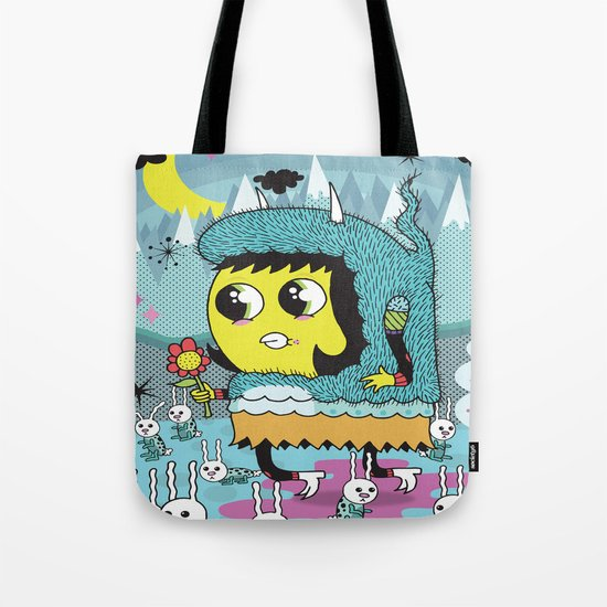 The Birds and the Bunnies  Tote Bag