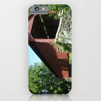 iPhone & iPod Case featuring A Bridge in the Country by Elizabeth Tompkins