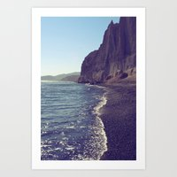 Otherworldly Waters Art Print