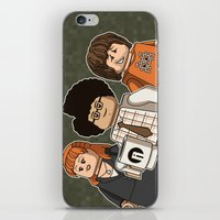 The Mini Crowd iPhone & iPod Skin