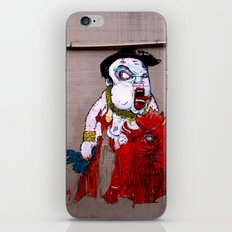 (Nobody Messes With) The Dragon Lady iPhone & iPod Skin