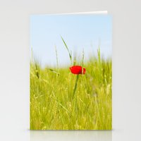 Poppy III Stationery Cards
