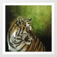 Who Goes There Art Print