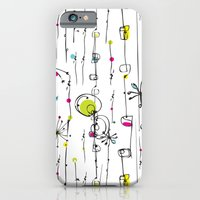 iPhone & iPod Case featuring Quirky Icons by Rachael Taylor