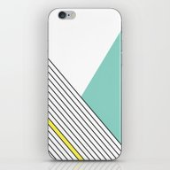 iPhone & iPod Skin featuring MINIMAL COMPLEXITY by .eg.