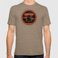 BRAUN - The Bearginning Mens Fitted Tee Tri-Coffee SMALL