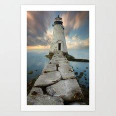 Palmer Island Lighthouse Art Print