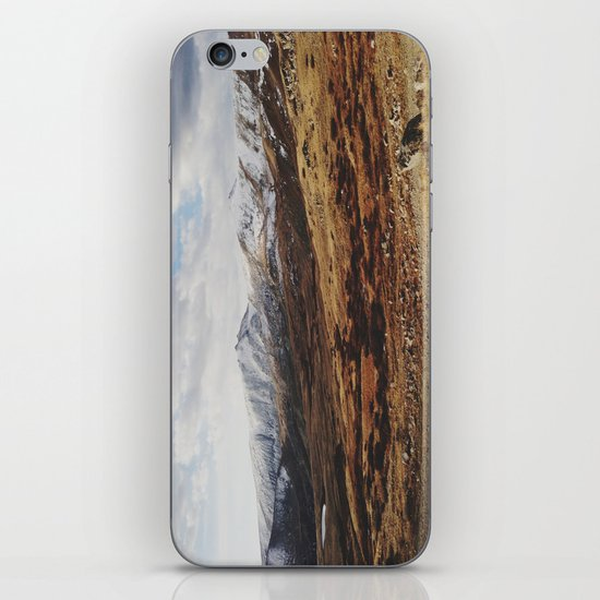 Mosquito Pass Rocky Mountains iPhone & iPod Skin