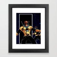 Nova-Pool Framed Art Print