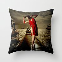 Siren Throw Pillow