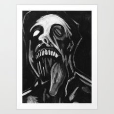 Jawless Art Print