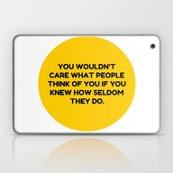 Laptop & iPad Skin featuring Don't Be Afraid To Do Yo… by Silvio Ledbetter