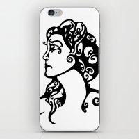 Gypsy Sorrow iPhone & iPod Skin