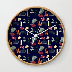 221B Baker Street version 2 Wall Clock