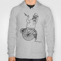 On wild and adventurous Penny-Farthling riders  Hoody