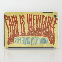 PAIN AND SUFFERING iPad Case