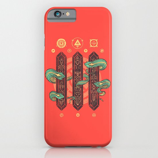 Alien Sorcery iPhone & iPod Case