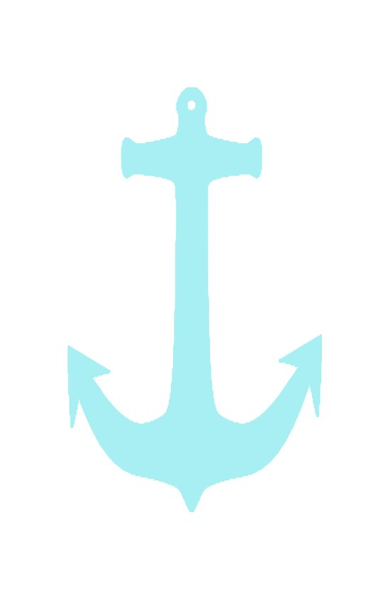 Sky Anchor Art Print
