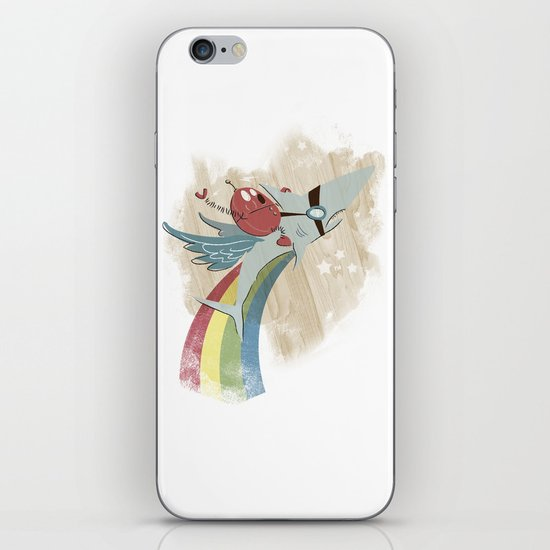 The Super Fire Awesome Rainbow Dream Adventure! iPhone & iPod Skin