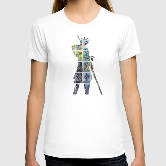 Cut StarWars Collage 8 T-shirt
