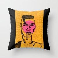 Grace Jones. Throw Pillow