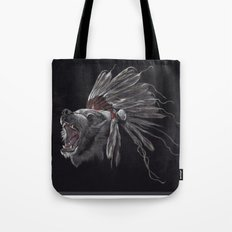 Running Bear - Updated Tote Bag