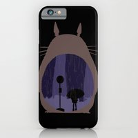 iPhone & iPod Case featuring Rainy Day (totoro) by BomDesignz