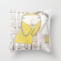 Create A New World Throw Pillow