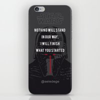 KYLO'S PROMISE iPhone & iPod Skin
