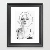 Lean in Framed Art Print