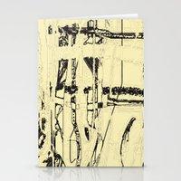 Plaid De Mode Stationery Cards