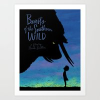 Beasts Of The Southern W… Art Print