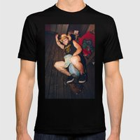 Dr Drunklove Mens Fitted Tee Black SMALL