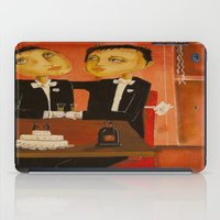 Wedding day iPad Case