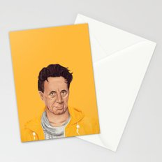 The Israeli Hipster leaders - Shimon Peres Stationery Cards