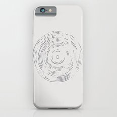 Record Black and White iPhone 6s Slim Case
