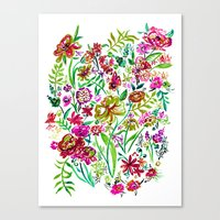 Gypsy Blooms - Day Canvas Print