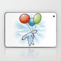 Cute Little Blue Bunny F… Laptop & iPad Skin