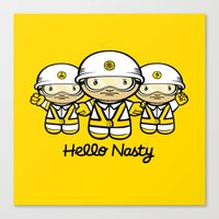 HELLO NASTY Canvas Print