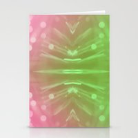 Laser Show Stationery Cards