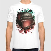 BallWars IV. Mens Fitted Tee White SMALL