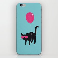 Cool Cat travels like this iPhone & iPod Skin