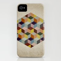 iPhone Cases featuring Dimension by According to Panda