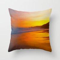 A Beautiful Dawn Throw Pillow