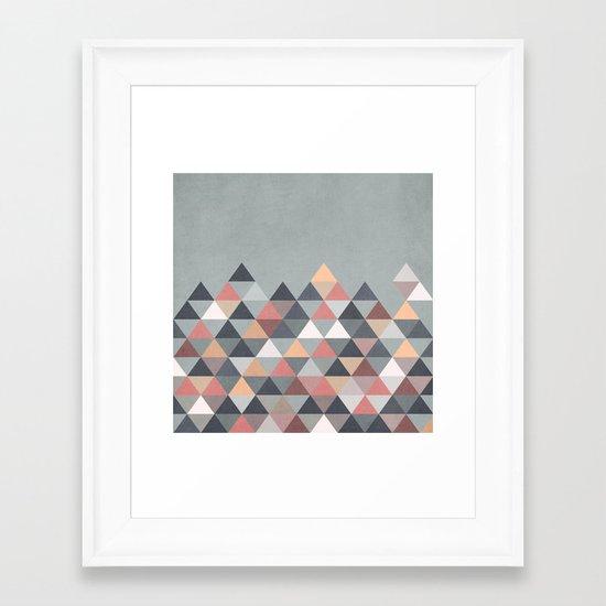 Nordic Combination IV Framed Art Print