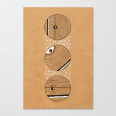 Three Circles Canvas Print